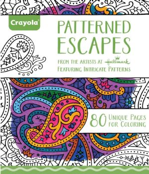 Crayola - Adult Colouring - Patterned Escapes Book